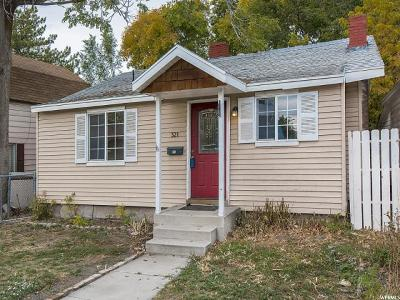 Salt Lake City UT Single Family Home For Sale: $200,000