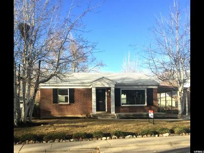 Salt Lake City UT Single Family Home For Sale: $424,900