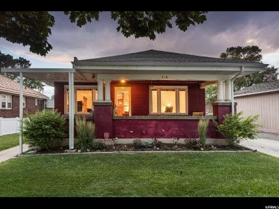 Salt Lake City UT Single Family Home For Sale: $459,900