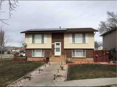 Ogden Single Family Home For Sale: 248 W Downs Cir