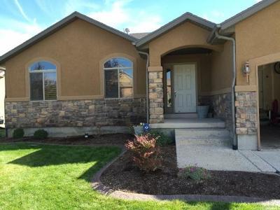 Eagle Mountain Single Family Home For Sale: 3486 E Heyward Dr