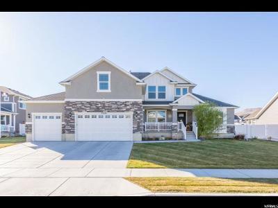 Herriman Single Family Home For Sale: 13688 S Bronco Hills Cir W