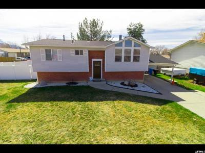 Orem Single Family Home For Sale: 51 W 1160 N