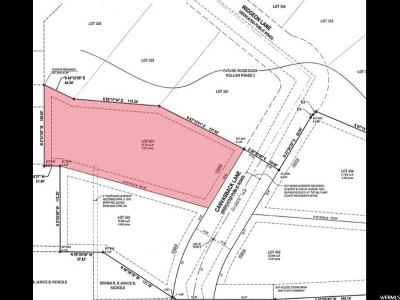 Bluffdale Residential Lots & Land For Sale: 14378 S Canvasback Ln