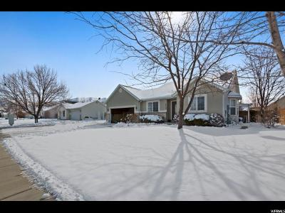 Springville Single Family Home For Sale: 1715 W 1120 S