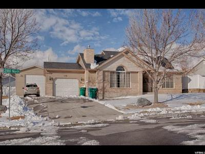 Lehi Single Family Home For Sale: 778 W 2180 N