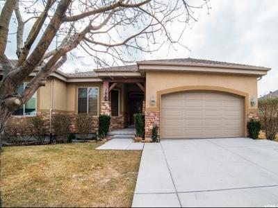 Orem Single Family Home For Sale: 1909 W Golden Pond Way S