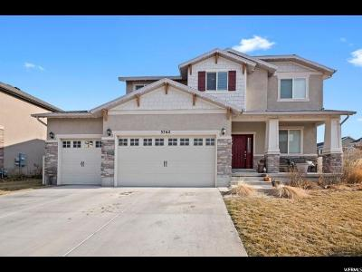 Lehi Single Family Home For Sale: 3762 N Bull Hollow Way