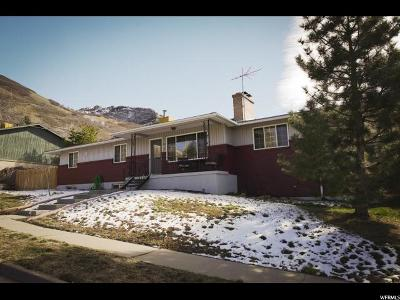 Cottonwood Heights Single Family Home For Sale: 3636 E Top Of The World Dr. S