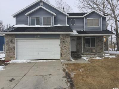 Lehi Single Family Home For Sale: 1321 N 2020 W