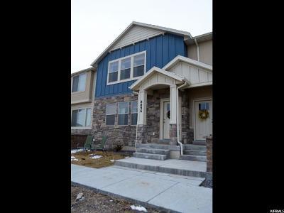 Eagle Mountain Townhouse For Sale: 8096 N Rock Creek Cove Ln