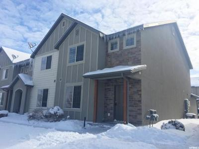 Spanish Fork Townhouse For Sale: 1227 N Cattail Dr E