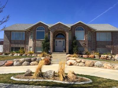 South Jordan Single Family Home For Sale: 10344 S Whispering Sands Cir