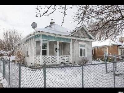 Salt Lake City Single Family Home For Sale: 1049 W 400 S
