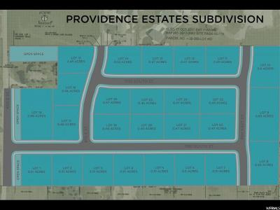 Providence Residential Lots & Land For Sale: 495 E 1130 S