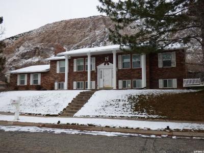 Ogden Single Family Home For Sale: 528 N Van Buren Ave E