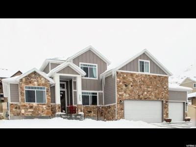 Herriman Single Family Home For Sale: 5443 W Aurora Vista Dr S