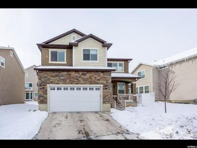 Herriman Single Family Home For Sale: 4933 W Yellow Topaz Dr S