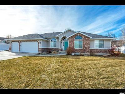 West Jordan Single Family Home For Sale: 4728 W Emmons Dr