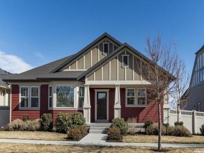 South Jordan Single Family Home For Sale: 10677 S Vermillion Dr W #537