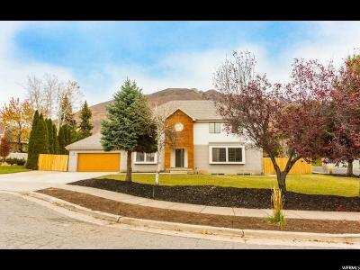 Cottonwood Heights Single Family Home For Sale: 8065 S Overhill Cir