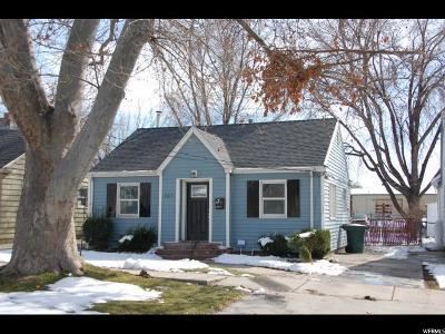 Salt Lake City Single Family Home For Sale: 367 W 700 N