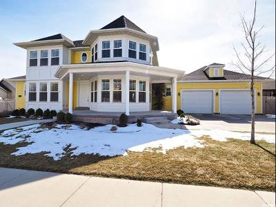 South Jordan Single Family Home For Sale: 4397 W Open Crest Dr S