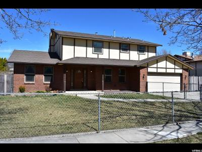 Murray Single Family Home For Sale: 1116 W Walden Park Dr S