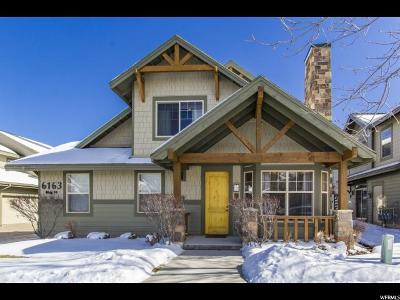 Park City Townhouse For Sale: 6163 Fox Pointe Cir #A2