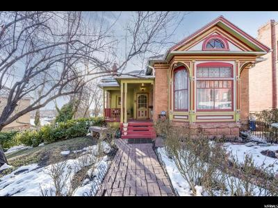 Salt Lake City Single Family Home For Sale: 325 N Quince St