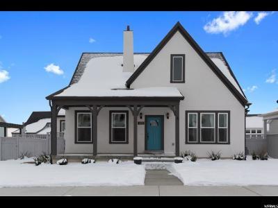 South Jordan Single Family Home For Sale: 4959 W Dock St S