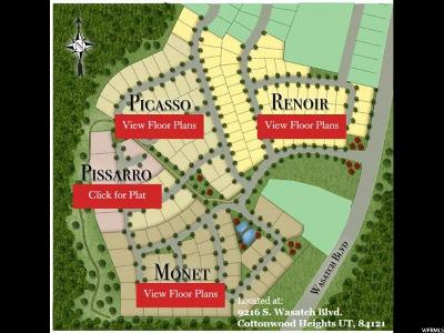 Cottonwood Heights Residential Lots & Land For Sale: 9212 S Jallais Ct E