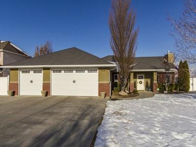 South Jordan Single Family Home For Sale: 10125 S Silver Streak Dr