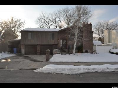Taylorsville Single Family Home For Sale: 5362 S Robinwood Cir W