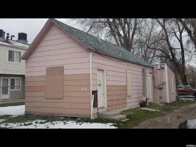 Salt Lake City Single Family Home For Sale: 320 N 800 W