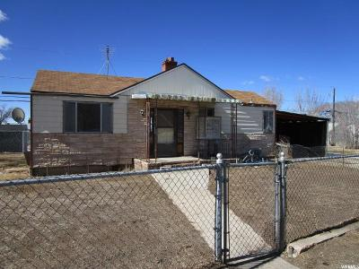East Carbon UT Single Family Home For Sale: $18,900