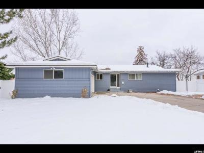 Salt Lake City Single Family Home For Sale: 2353 E Cinnabar Ln S