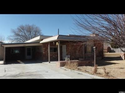 Price UT Single Family Home For Sale: $110,000