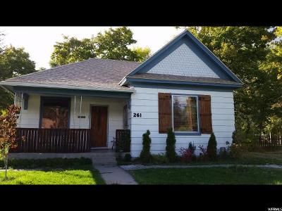 Logan Single Family Home For Sale: 261 S 300 E
