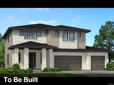 Cottonwood Heights Single Family Home For Sale: 3434 E Maya Ln S #LOT233