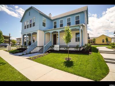 South Jordan Townhouse For Sale: 10682 S Oquirrh Lake Rd W #240