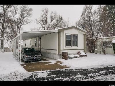 Layton Single Family Home For Sale: 2600 N Hillfield E
