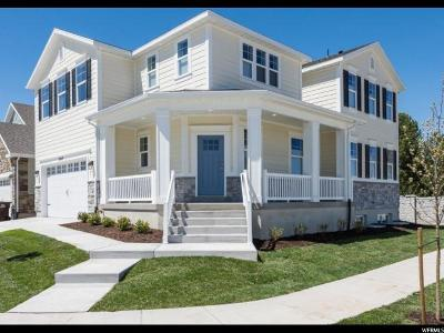 West Jordan Single Family Home For Sale: 2842 W Nairn Way S #38
