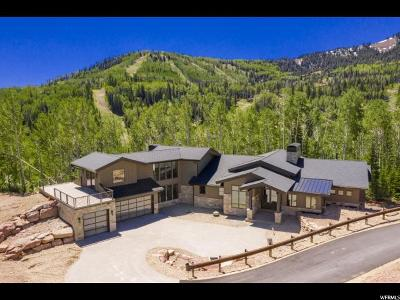 Park City Single Family Home For Sale: 93 White Pine Canyon Rd #82