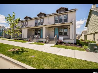 South Jordan Townhouse For Sale: 10566 S Oquirrh Lake Rd W #236