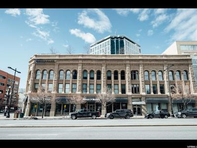 Salt Lake City Condo For Sale: 268 S State St #415