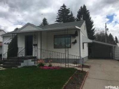 Preston Single Family Home For Sale: 139 S 300 E