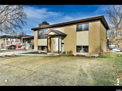 Midvale Single Family Home For Sale: 8187 S Lance St W