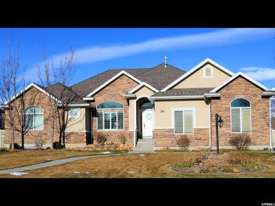 Kaysville Single Family Home For Sale: 201 S Misty Breeze Cir