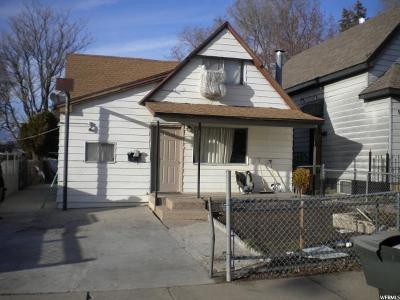 Ogden Single Family Home For Sale: 958 E Capitol St